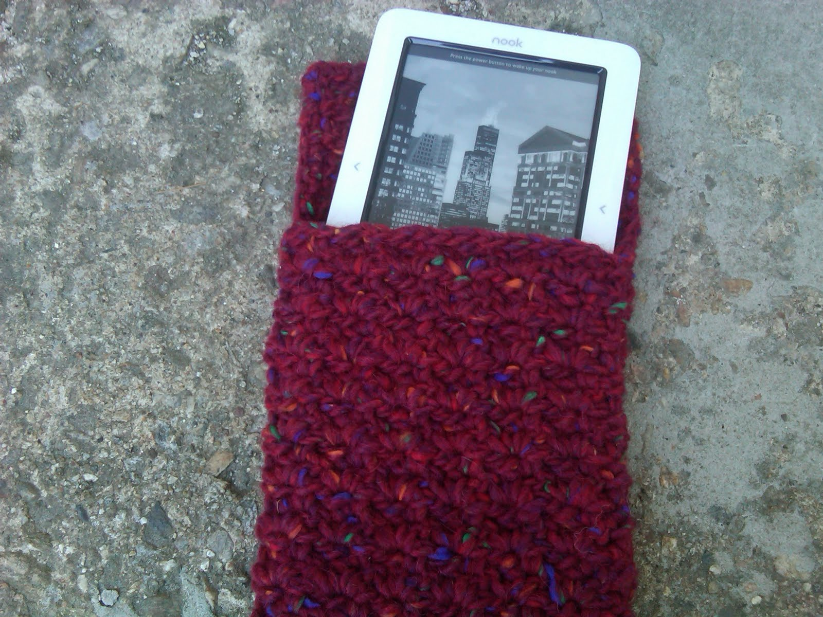 WildKnitter: Nook/Kindle Cover Pattern - Crochet