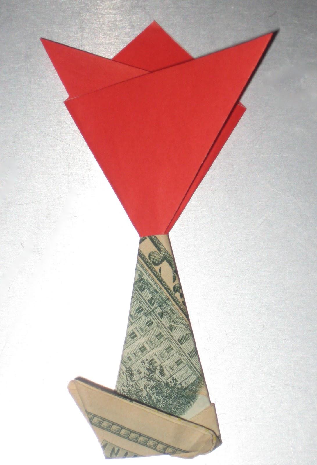 Tight Wad In Utah Diy Origami Money Flower