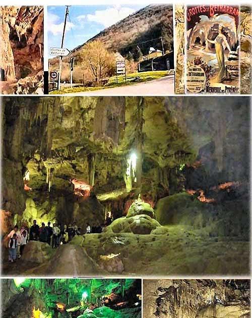 Amici in allegria grotte di betharram francia for Piani di casa di roccia del fiume