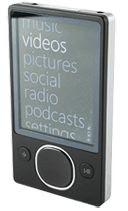 80GB Microsoft Zune MP3