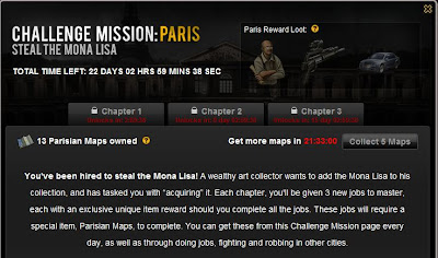 Mafia Wars - Challenge Mission - Paris - Steal the MonaLisa