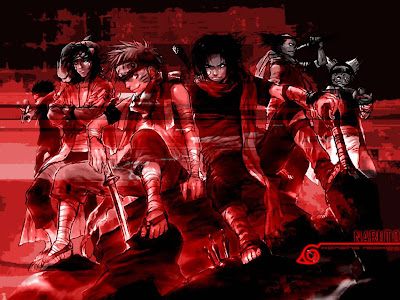 Naruto Shippuden Wallpaper. In Red