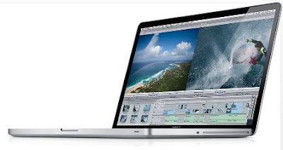 the all new 17-inches MacBook Pro. Thw world thinnest and lightest 17 inches notebook