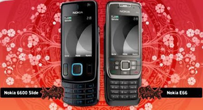 E66 and Nokia 6600 Slide.