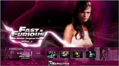 official website of Fast & Furious 4
