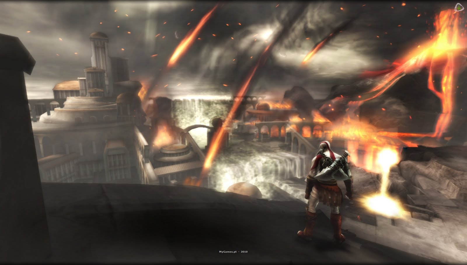 Download BAIXAR GAME  God of War: Ghost of Sparta PSP