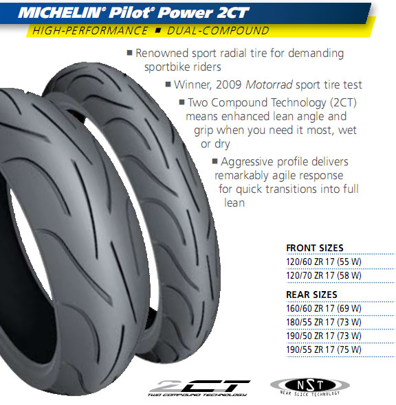 best motorcycle tires michelin pilot power 2ct. Black Bedroom Furniture Sets. Home Design Ideas