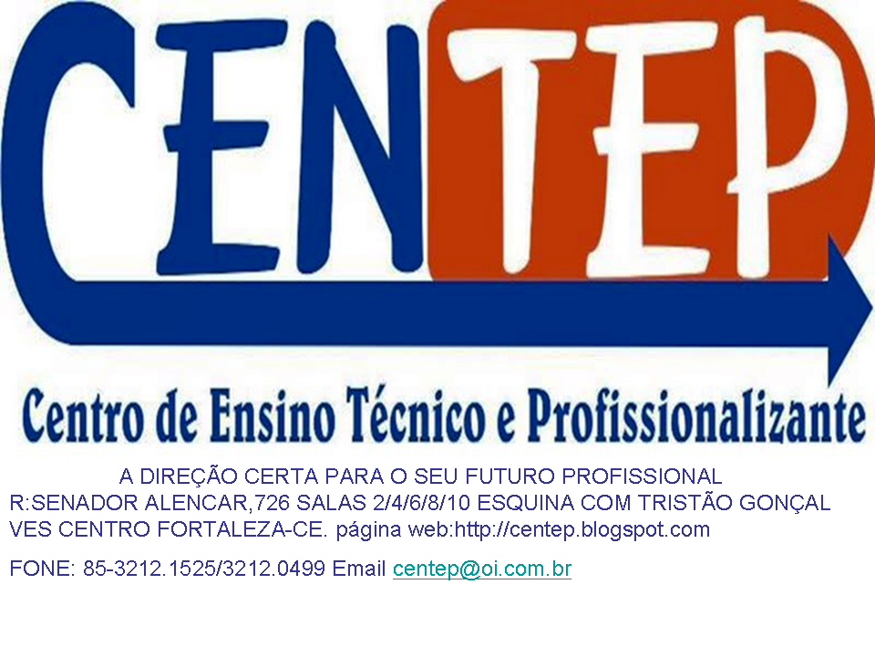 CENTEP CENTRO DE ENSINO TEC E PROFISSIONALIZANTE