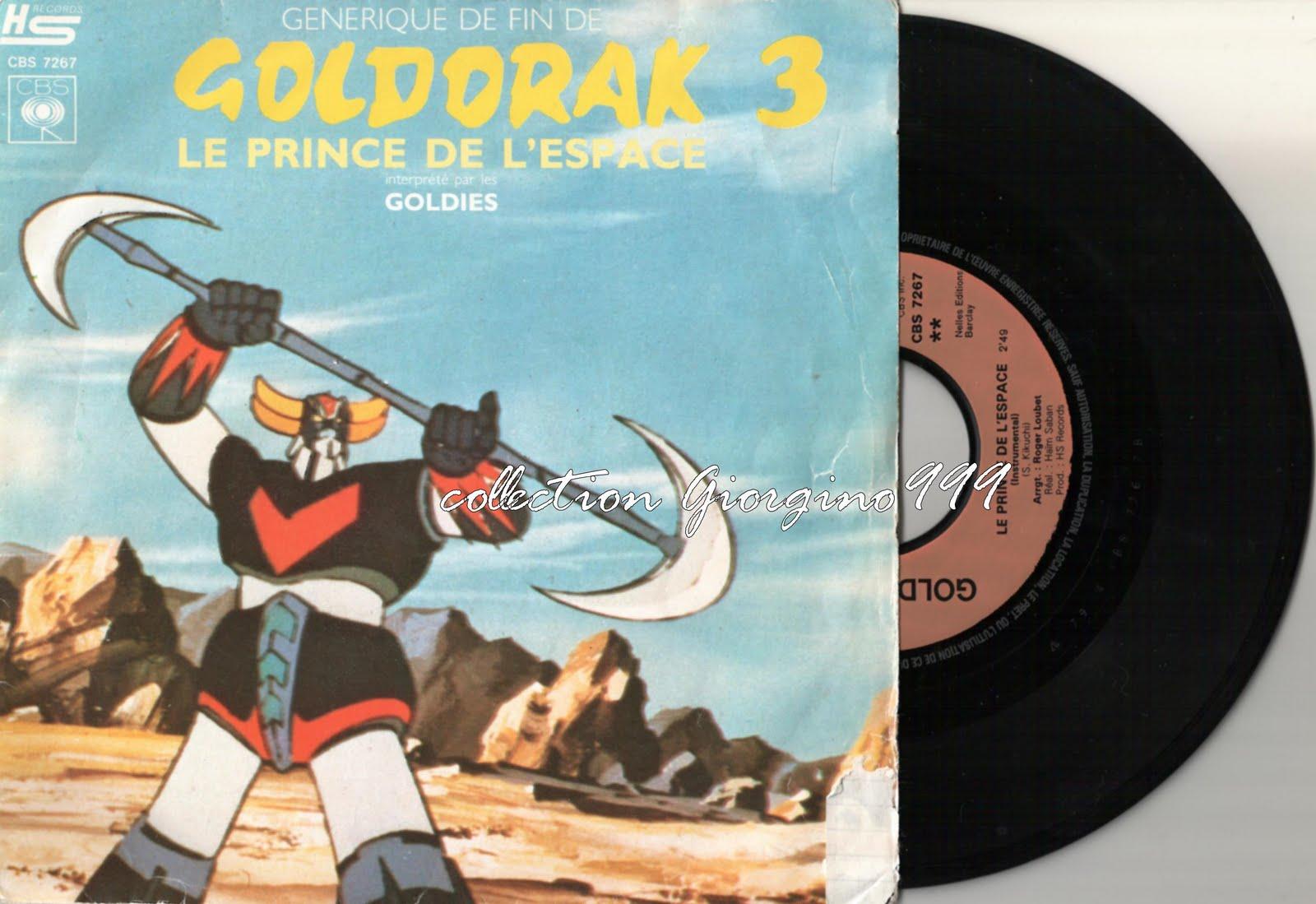 Les musiques de jeux vidéo en vinyle. Goldorak+3