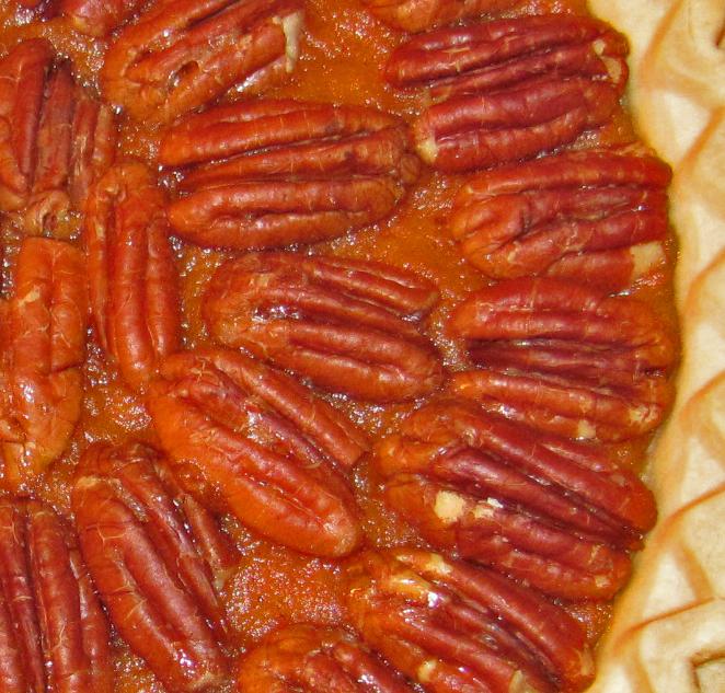 Free Kitchen: Maple Sweet Potato and Pecan Pie