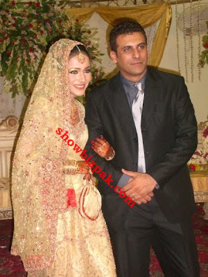 Pakistani Showbiz Shamoon Abbasi And Humaima Abbasi Wedding