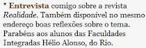 Deu no blog do J.S.Faro