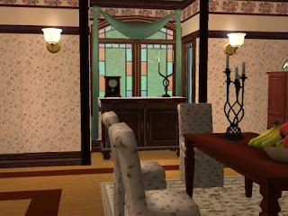Dining Room on Charmed Sims 2 Pics  Halliwell Manor Dining Room