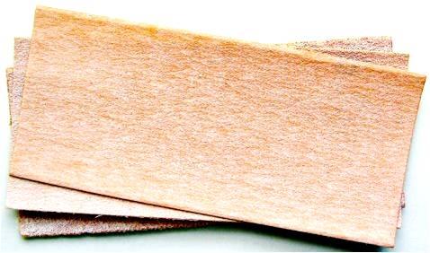 what determines the coarseness of sandpaper
