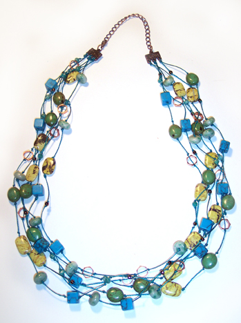 Sunlit Seas necklace