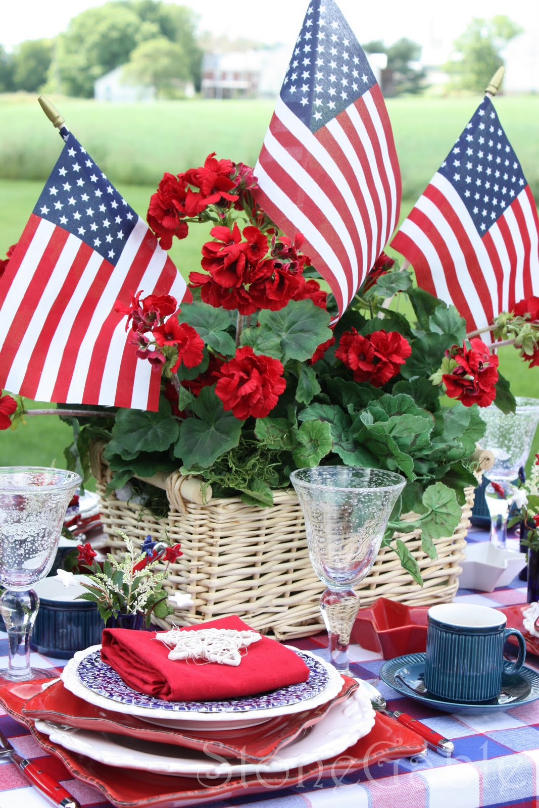 Memorial day menu for Decoration day