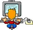 bambino su internet