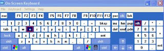 Anti keylogger, tastiera video