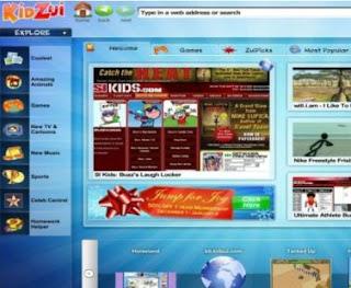 KidZui browser per bambini