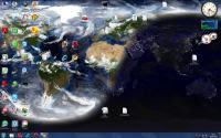 la Terra sul desktop