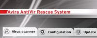 Avira antivirus rescue CD