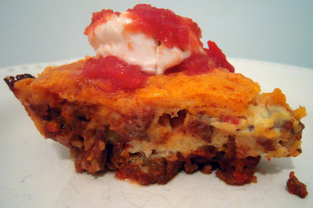 Impossible Taco Pie | Plain Chicken