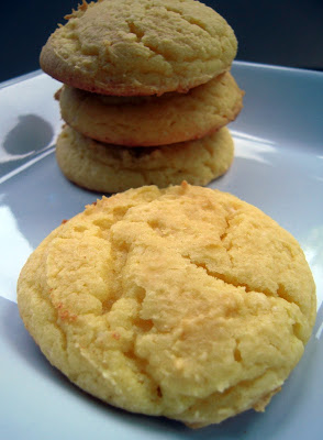 Lemon Ricotta Cake Mix Cookies