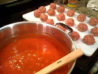Linguini & Meatballs