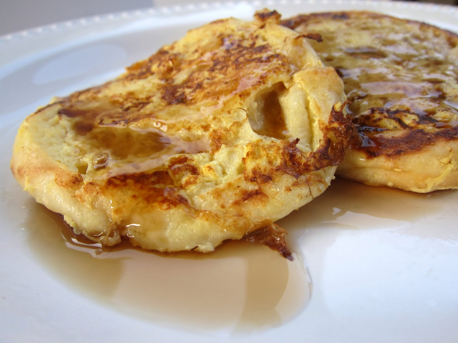 English Muffin French Toast | Plain Chicken