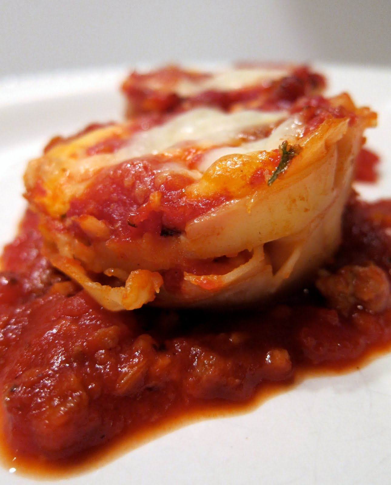 "Lasagna ""Cupcakes"" - Plain Chicken"