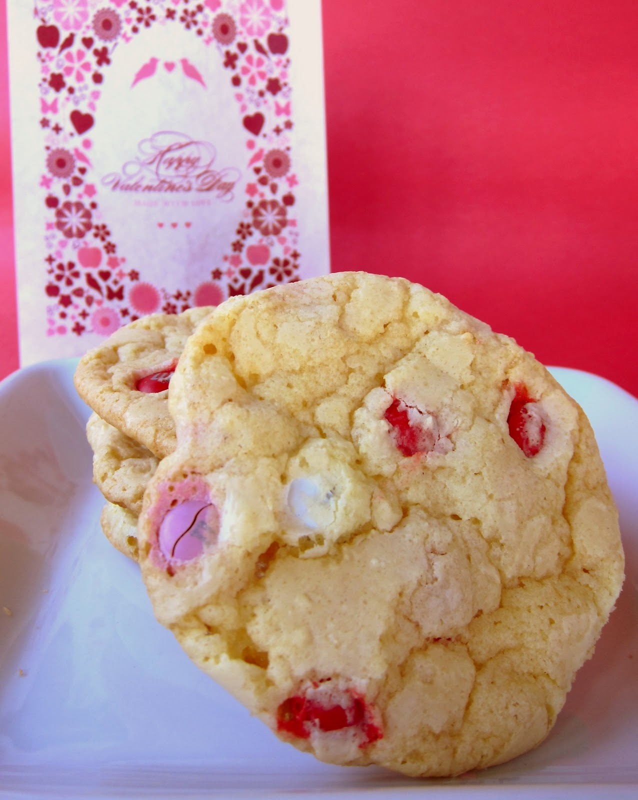 Yellow Cake Mix Cookies With M Amp