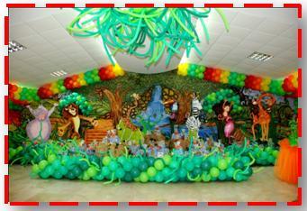Decoilusion fiestas infantiles - Decoracion fiestas infantiles para ninos ...