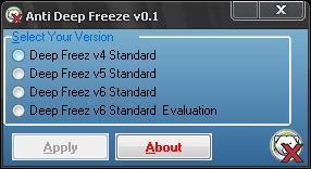 lUPA Password Deep Freez