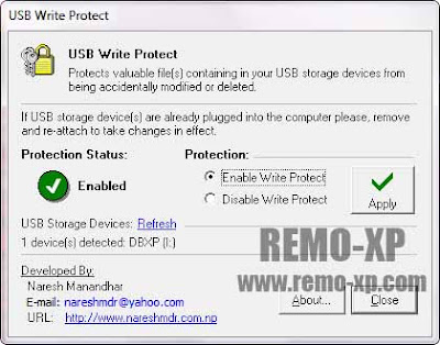 USB Write Protect v1.10
