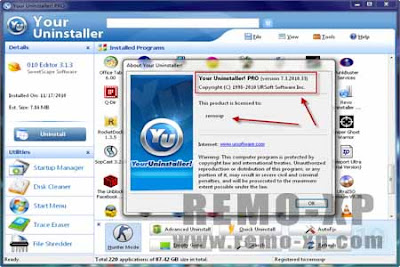 Your Uninstaller Pro 7.3.2010.33