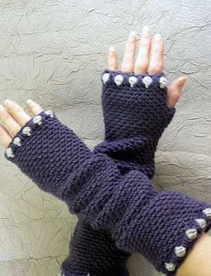 Seamless fingerless glove pattern « Cult of Crochet
