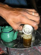 La ceremomia del té...