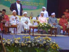majlis perasmian seminar disempurnakan oleh TGNA Menteri Besar Kelantan