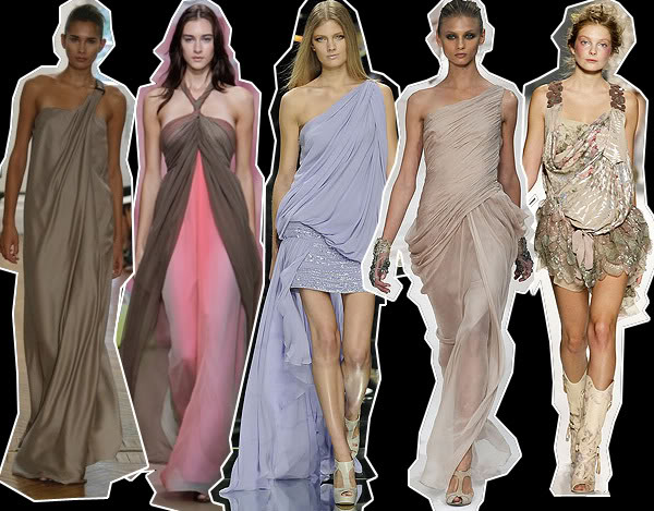 Fashion my love the draped dress Rome fashion designers