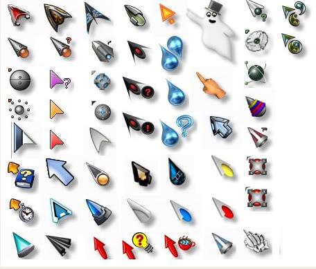descargar cursores animados para windows 7