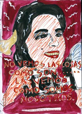 """Lo que veo desde mi ventana, """"Biografía dibujada"""", Agustí Garcia, Bad Painting, Pinturas, Agustí Garcia Monfort,"""