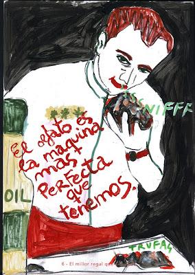 """El mejor regalo que me han hecho, """"Biografía dibujada"""", Agustí Garcia, Bad Painting, Pinturas, Agustí Garcia Monfort,"""
