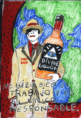 """Como me imagino a Dios, """"Biografía dibujada"""", Agustí Garcia, Bad Painting, Pinturas, Agustí Garcia Monfort,"""