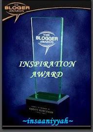 Penghargaan Teman Blogger...Thanks!