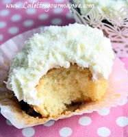 Cupcakes Rhum Noix de coco