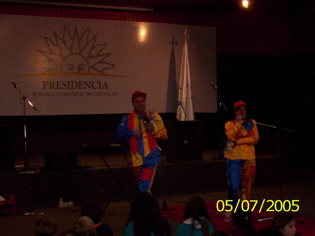 Corbatin y Moñita - Payasos de Uruguay