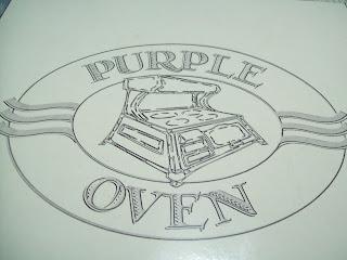 the purple oven