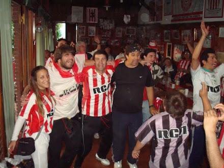 Festejando el Campeonato en Apertura