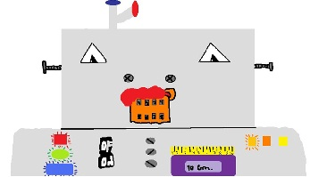 Esta é a minha mascote PUKATUITA ROBOT