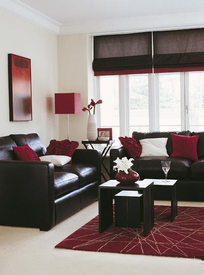 Modern furniture inspirational ideas for real living rooms - Ivory painted living room furniture ...
